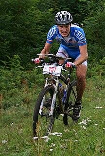 Jiří Hradil Czech mountain bike orienteer