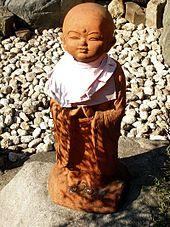 Statue de Jizō au Japon