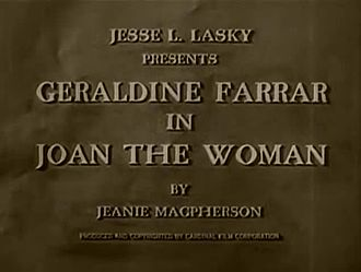 Fichier:Joan the Woman (1916).webm