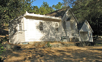 National Register of Historic Places listings in Alameda County, California - Image: Joaquin Miller House (Oakland, CA)