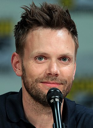 Joel McHale - McHale at the 2014 San Diego Comic-Con International