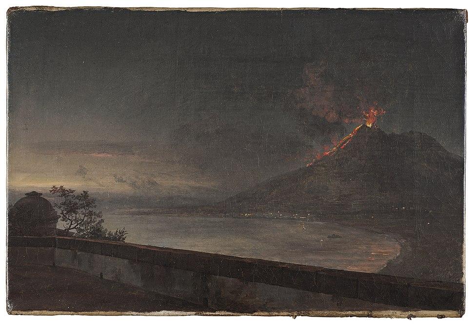 Johan Christian Dahl, Utsikt mot Vesuvius från Quisisana