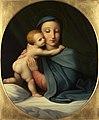 Johann Evangelist Scheffer von Leonhardshoff - Madonna mit Kind - 3257 - Kunsthistorisches Museum.jpg