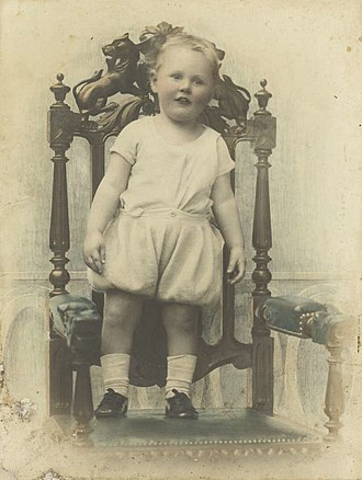 John Gorton - Gorton as a toddler in 1913
