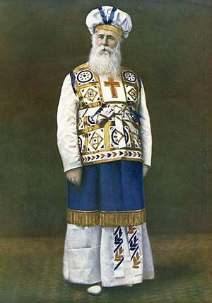 John Alexander Dowie - Alexander Dowie in his robes as Elijah the Restorer
