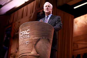 John Cornyn - John Cornyn speaking at the 2014 Conservative Political Action Conference (CPAC) in National Harbor, Maryland.