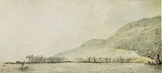 Kealakekua Bay - Image: John Webber 'Kealakekua Bay and the village Kowroaa', 1779, ink, ink wash and watercolor