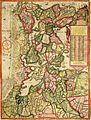 Joost Jansz Bilhamer - 1575 kaart noord holland.jpg