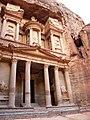 Jordan, Petra, (The Treasury of the Pharaoh);.jpg