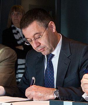 Josep Maria Bartomeu - Josep Maria Bartomeu in 2014