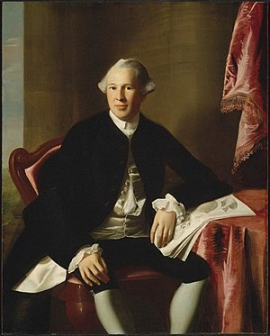 Warren County, New York - General Joseph Warren, commander at the Battle of Bunker Hill and namesake of Warren County. Portrait by John Singleton Copley, c. 1765