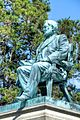 Joseph Alexis Bailly's (1825 - 1883) seated statue of William F. Hughes (1807-71), Laurel Hill Cemetery.jpg