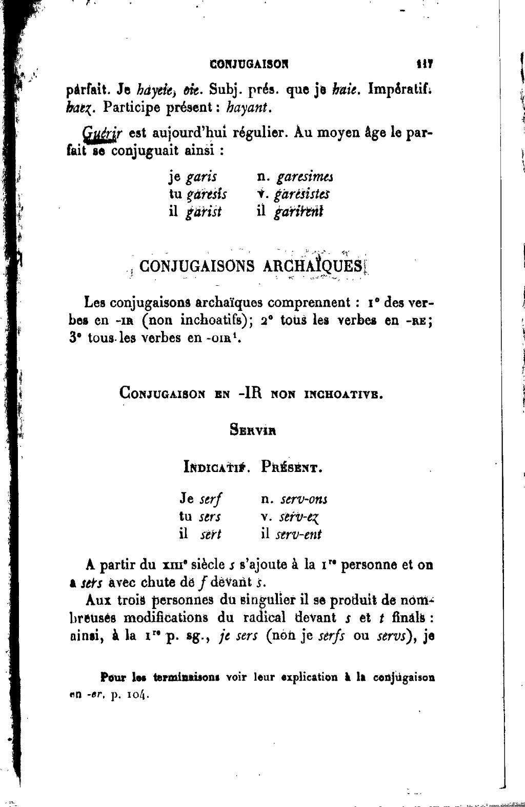 Page Joseph Anglade Grammaire Elementaire De L Ancien Francais Djvu 128 Wikisource