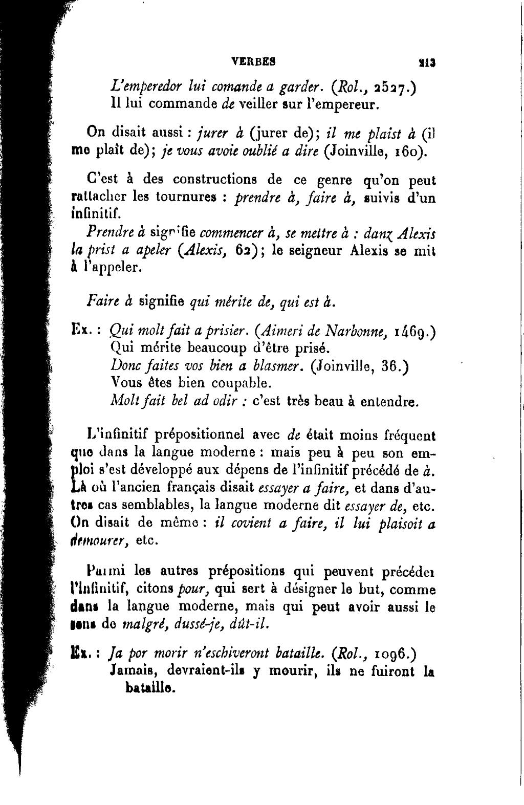 size 40 a86af 52006 Page Joseph Anglade - Grammaire élémentaire de l ancien français.djvu 224 -  Wikisource