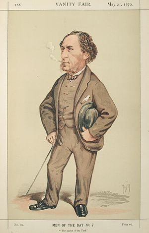 Musjid (horse) -  Joseph Hawley, Musjid's owner, who won more than £75,000 on the 1859 Derby