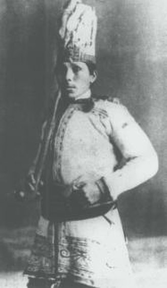 Mohawks of Kanesatake - Joseph Onasakenrat, chief of the Mohawks of Kanesatake from 1868 to 1881