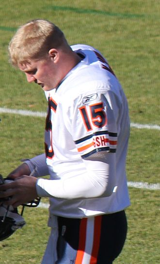Josh McCown - McCown with the Chicago Bears in 2011