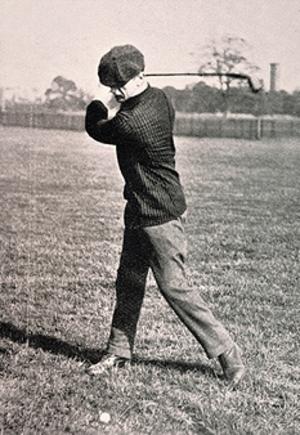 Josh Taylor (golfer) - Image: Josh Taylor, golfer, c. July 1900
