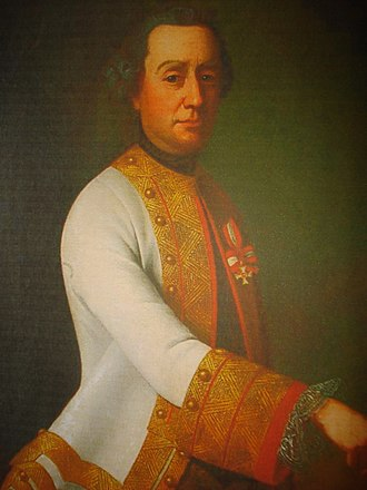 Croatian nobility - Count Josip Kazimir Drašković, general of the Habsburg Monarchy imperial army