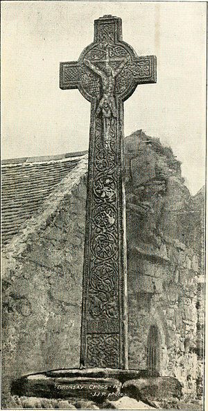 Oronsay, Inner Hebrides - Cross No. 1 on Oronsay