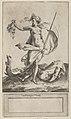 Judith with the Head of Holofernes, standing nude in a barren landsape MET DP836929.jpg