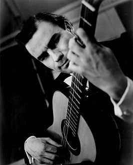 Julian Bream in 1964