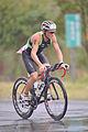 Justin Granger on bike at 2013 Ironman Taiwan.jpg