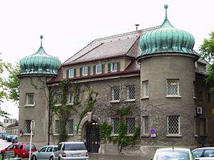 Landsberg Prison - Image: Justizvollzugsanstal t Landsberg am Lech
