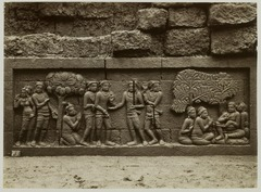 KITLV 28053 - Kassian Céphas - Relief of the hidden base of Borobudur - 1890-1891.tif