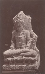 KITLV 87680 - Isidore van Kinsbergen - Hindu-Javanese sculpture coming from the Dijeng plateau - Before 1900.tif