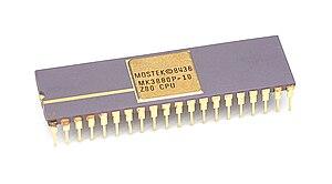 Zilog Z80 - Mostek's Z80: MK3880