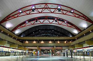 Pittsburgh International Airport - Part of the Landside Terminal ticketing area