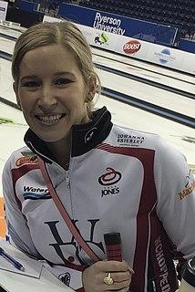Kaitlyn Lawes Canadian curler