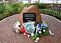 Kamień skwer Pamięci Żydów Otwockich 20 sierpnia 2017.jpg