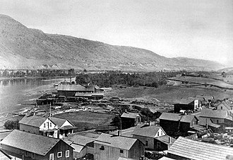 Kamloops - Kamloops and the Thompson River, 1886