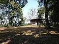 Kaneyama castle honmaru.JPG