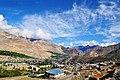 Kargil Town as sen from Petrol Pump.jpg
