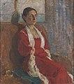 Karl Isakson - Portrait of Mrs. Bertha Brandstrup - KMS3143 - Statens Museum for Kunst.jpg