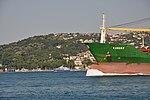 Karsoy cargo on the Bosphorus in Istanbul, Turkey 002.JPG