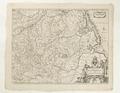 Karta över Westfalen, 1700-talet - Skoklosters slott - 97963.tif