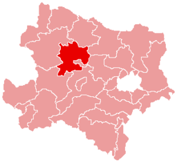 Bezirk Krems-Land location map