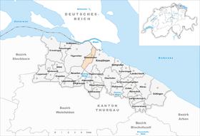 Karte Gemeinde Emmishofen 1927