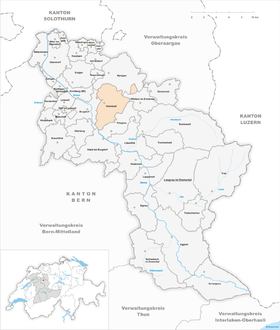 Map of Heimiswil