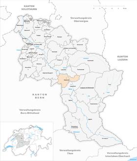 Map of Rüderswil