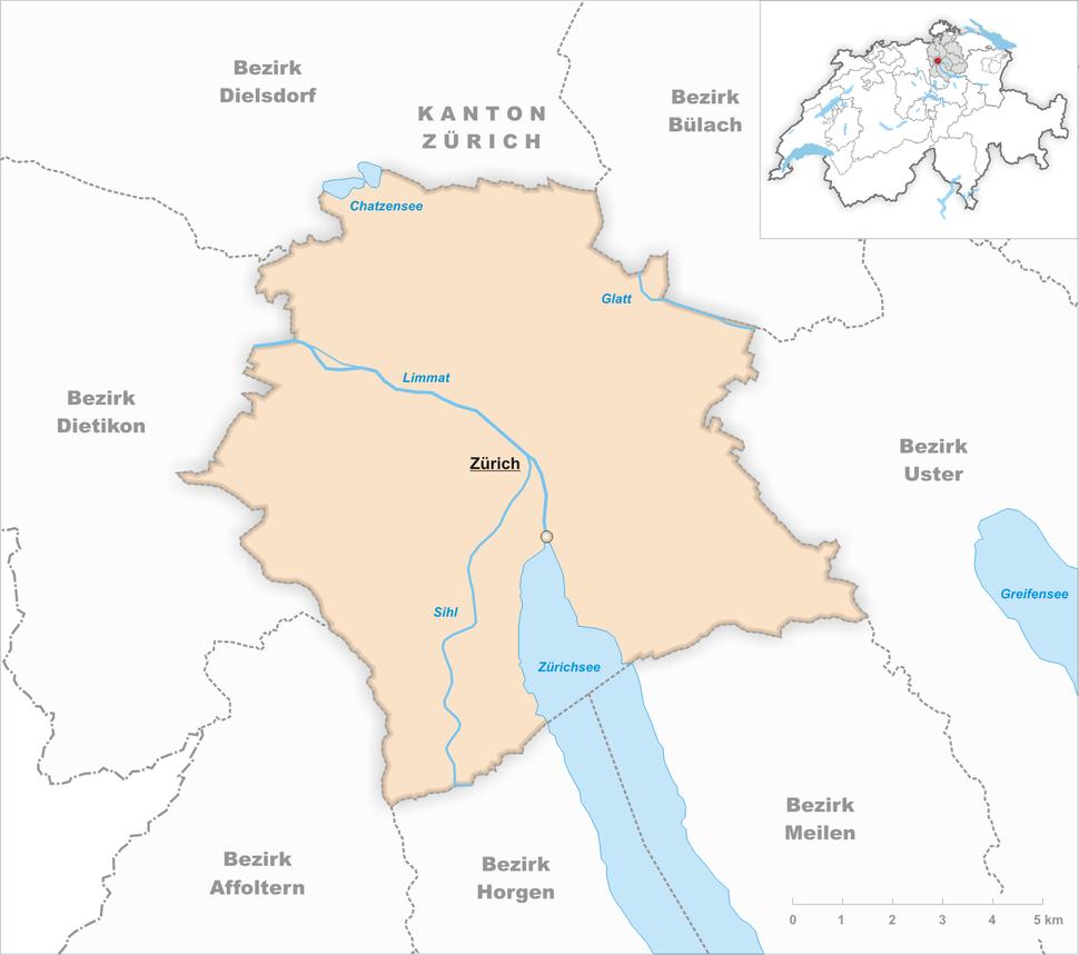 Karte Gemeinde Z%C3%BCrich 2007