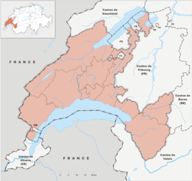 vevey carte suisse - Image
