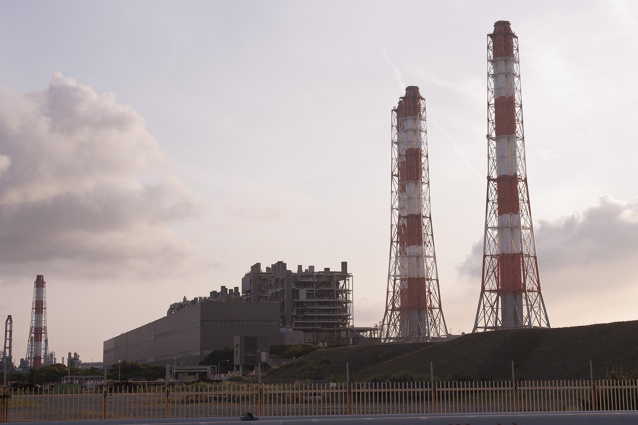 Kashima Thermal Power Plant 02