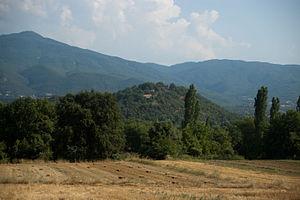 Ainis - Kastrorakhi seen from Vitoli.