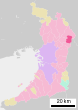 Katano in Osaka Prefecture Ja.svg