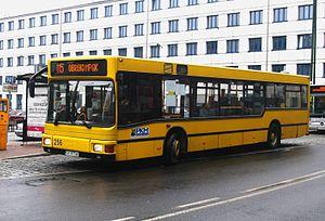 Katowice MAN bus n°256, line 15